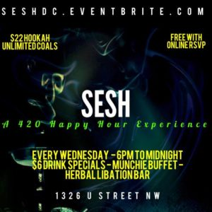 SESH Hosted by Elevated Events Group - March 22 2017