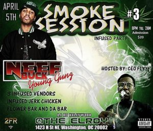 Smoke Session #3 Infused Party - April 5 2017