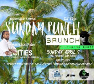 Sunday punch Brunch Hosted by Chef Giovanni - April 9 2017