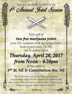 1st Annual Congressional Joint Session Hosted by DCMJ - April 20 2017