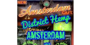 Amsterdam In DC SmokeOut Café Hosted by District Hemps - April 15 2017