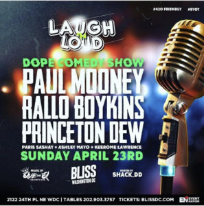 Laugh N Loud: Dope Comedy Special starring Paul Mooney - April 23 2017