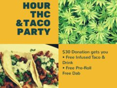 One Hour THC & Taco Party - May 29 2017