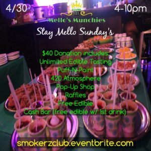 Mello's Munchies Stay Mello Sunday's - April 30 2017