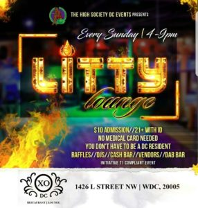 Litty Lounge Hosted by The High Society DC Events - May 7 2017