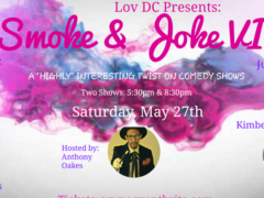 Smoke & Joke VI by Lov DC Events - May 27 2017