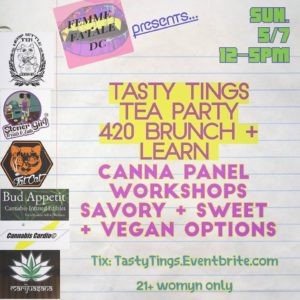 Tasty Tings 420 Brunch and Learn Hosted by Hemp Kettle Tea Company - May 7 2017