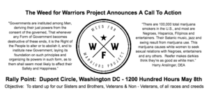 Weed for Warriors DC 2017 Hosted by Weed For Warriors Project - May 8 2017