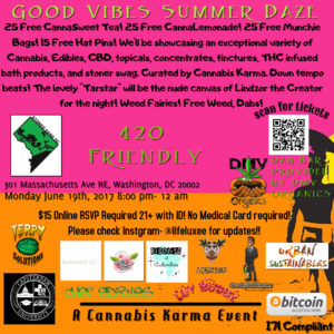 Good Vibes Summer Daze Hosted by Cannabis Karma - June 19 2017