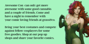 Canna Comics - A Cosplay Cannabis Party by Grass & Co. - June 16 2017