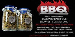 DistrictHemps Presents: BBQ Blowfest - June 24 2017