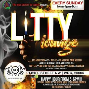 Litty Lounge Hosted by The High Society DC Events - July 2 2017