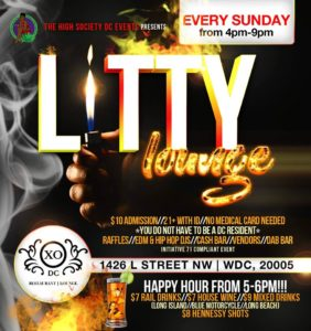 Litty Lounge Hosted by The High Society DC Events - June 4 2017