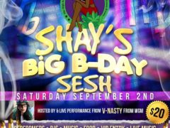 Shays Big BDay Sesh by The High Society DC Events - September 2 2017