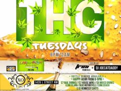 THC Tuesdays presented by Dr Trichome & Supreme Delights - June July 2017