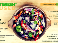 """Cannabis Happy Hour Series: """"SweetGreen"""" Infused by TTC GREEN - July 27 2017"""