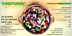 "Cannabis Happy Hour Series: ""SweetGreen"" Infused by TTC GREEN - July 27 2017"