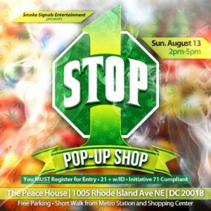 1 Stop Pop-up Shop Hosted by Smoke Signals Entertainment - August 13 2017