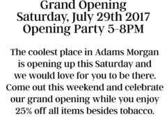 Grass & Co. Grand Opening - July 29 2017
