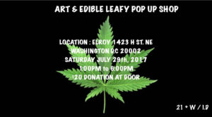 Art and Edible Pop Up - July 29 2017