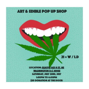 Art and Edible Pop Up - July 22 2017