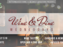 ButterMilk420 & DC Sweets Present Wine & Dine - July 12 2017