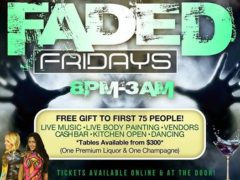 Faded Fridays Hosted by The High Society DC Events - July 28 2017