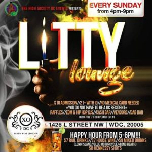 Litty Lounge Hosted by The High Society DC Events - July 30 2017