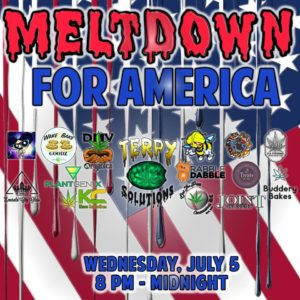 Meltdown for America Hosted by Terpy Solutions - July 5 2017