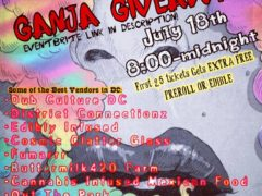 The Ganja Giveaway by Dub Culture DC - July 18 2017