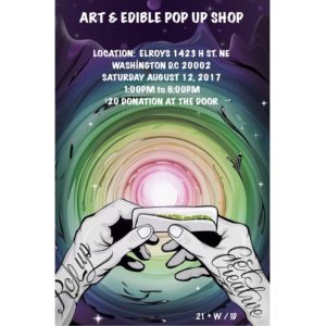 Art & Edible Pop Up Shop - August 12 2017