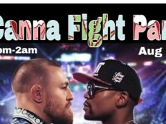 Canna Fight Party by Supreme Delights - August 26 2017