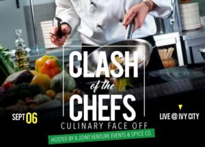 Clash of the Chefs Hosted by Secret Cypher Social - September 9 2017