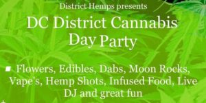 """DC DISTRICT CANNABIS "" Day Party Part.2 by District Hemps - August 19 2017"