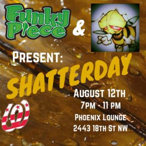 FunkyPiece Presents Shatterday - August 12 2017