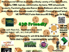 Good Vibes Cookie Sesh Hosted by Cannabis Karma - August 14 2017