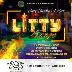 Litty Loung Hosted by The High Society DC Events - August 6 2017