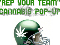 "Mamajuana Edibles ""Rep Your Team"" Cannabis Pop Up - August 26 2017"