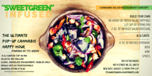 The Ultimate Pop-Up Cannabis Happy Hour hosted by TTC Green - August 31 2017
