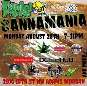 Funky Piece presents Cannamania - August 28 2017