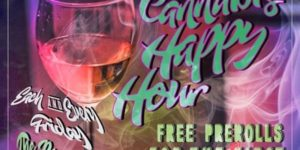 Cannabis HAPPY HOUR! EACH and EVERY Friday! by @otpconcessions