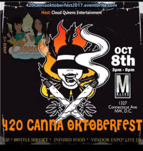 Cloud Queen Entertainment Presents Canna OckoberFest 2017 - October 8 2017