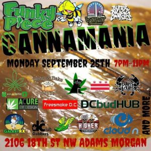 FunkyPiece CannaMania - Every Monday in 2017