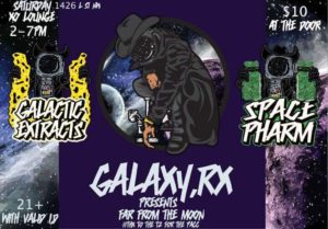 Galaxy.rx Presents Far from the Moon Pop Up - September 23 2017