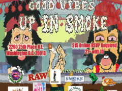 Good Vibes Up in Smoke Hosted by Cannabis Karma - September 18 2017
