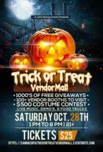 Halloween Trick or Treat Vendor Mall - October 28 2017