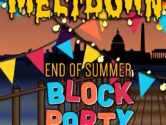Meltdown End of Summer Block Party Hosted by Terpy Solutions - September 6 2017