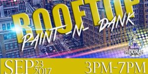 Rooftop Paint -N- Dank by DMV Holleywood Entertainment - September 23 2017