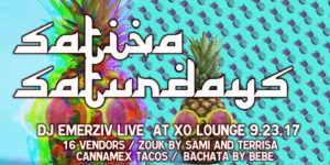 Sativa Saturdays - Latin Day Party - Press Going for Free Dabs - September 23 2017