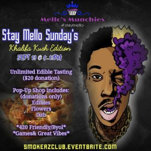 Stay Mello Sunday's by Mello's Munchies - September 10 2017